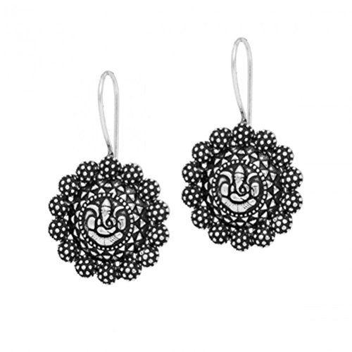Bollywood Oxidised Silver Ganesha Dangle Earring / AZINOX... https://www.amazon.com/dp/B01MG41AQG/ref=cm_sw_r_pi_dp_x_3QzdybFB97CW8
