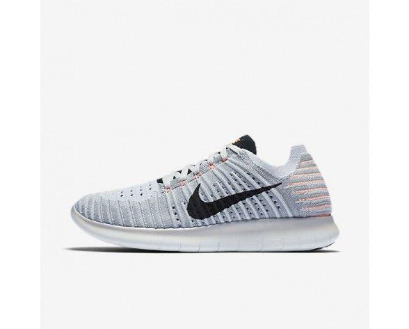 3ca89436b23e 831070-005 Running Shoes Nike Free RN Flyknit Wolf Grey