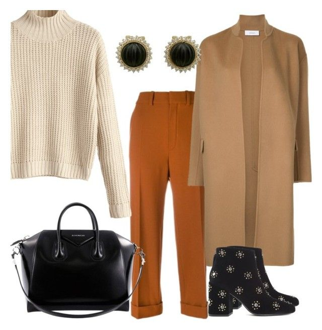 """""""Untitled #140"""" by ioannagesouli on Polyvore featuring Chloé, Astraet, Senso and Givenchy"""