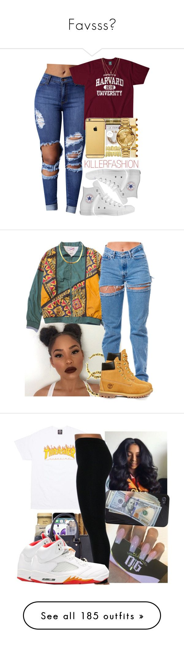 """Favsss✨"" by laiixo ❤ liked on Polyvore featuring Converse, Timberland, Retrò, Boohoo, Poetic Justice, MICHAEL Michael Kors, Forever 21, Monki, Moschino and UGG Australia"