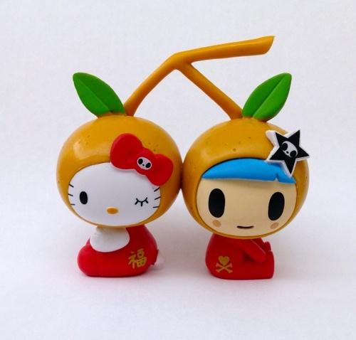 Tangerine Kitty, Artist: Simone Legno (Tokidoki), Manufacturer: Sanrio // Rotocasted.com: For the love of toys!