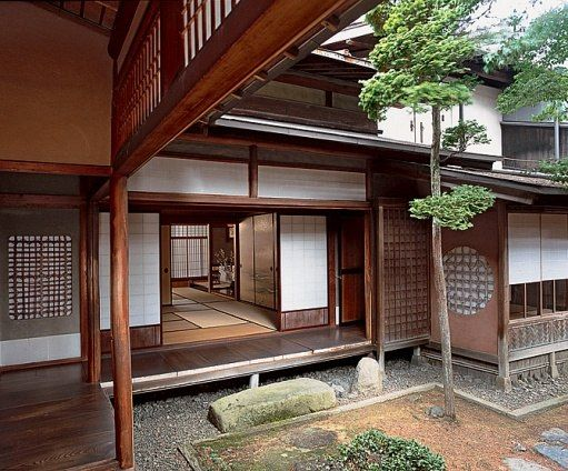 The Yoshijima House in the mountains of Takayama The