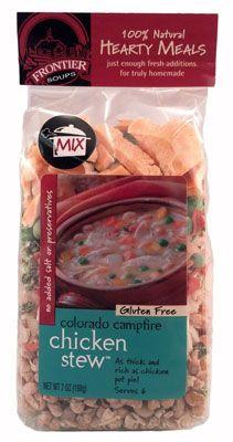 10/mg sodium per 1 cup prepared - Frontier Soups Colorado Campfire Chicken Stew