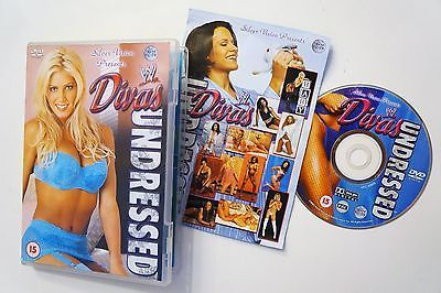 PAL DVD WWE Divas Undressed Rare Trish Stratus Stacy Keibler Torrie Wilson WWF