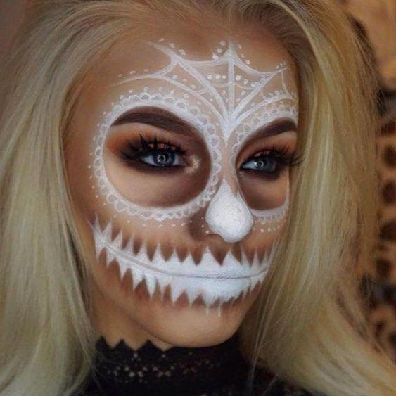 "17 Likes, 1 Comments - Special Effects Makeup (@lovelynightmaremakeup) on Instagram: "" ------------- #halloween #halloweencostume #halloweenmakeup #halloweenideas #halloweeniscoming…"""