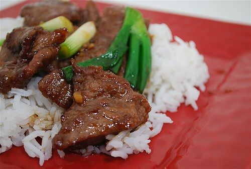 Mongolian Beef - This was delicious! My whole family LOVED it! I would definitely make this again with broccoli and maybe some cashews. The fresh green onion is so wonderful in this!