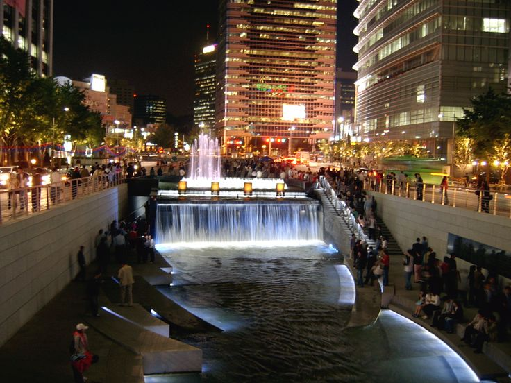 Chonggyecheon, enough said.
