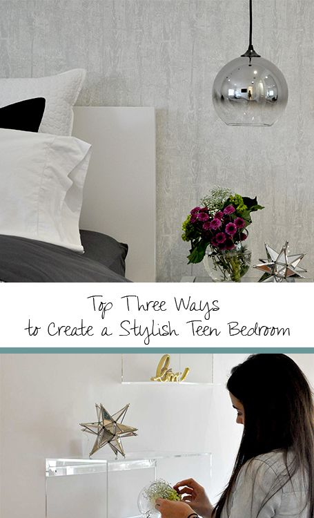 DKOR's top interior designers share tips to help you create a unique teen