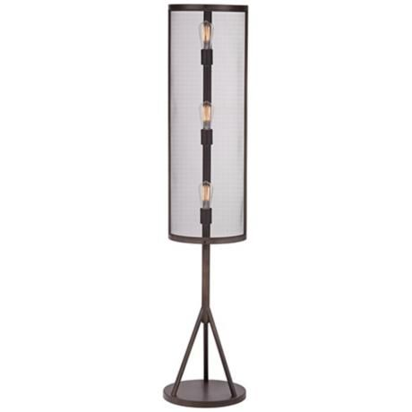 floor lamp floor lamps iron work irons forward franklin iron works. Black Bedroom Furniture Sets. Home Design Ideas