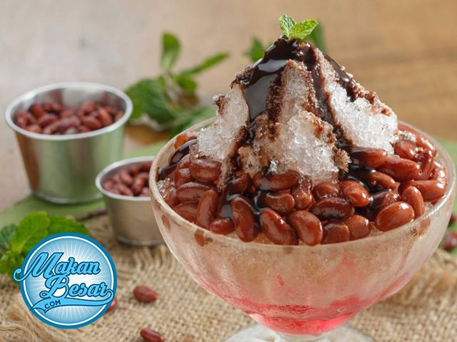 Cara Bikin Es Kacang Merah