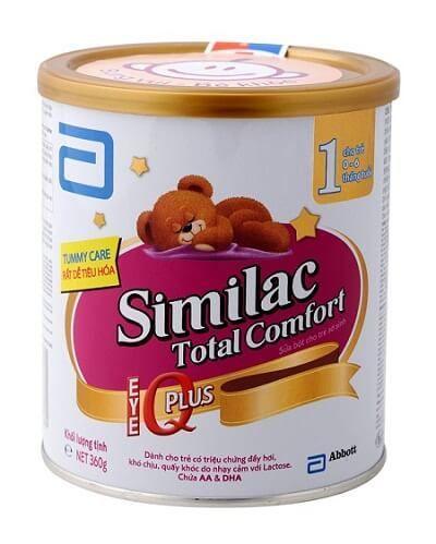 Sua Similac Total comfort - Sữa Similac Total Comfort là sản phẩm sữa công thức dành riêng cho các bé nhạy cảm với Lactose - Sữa bột Similac Total Comfort