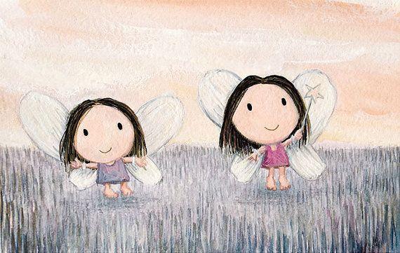 dress ups - children fancy dress little girl wall art cute fairy children costume baby girls room fairy artwork fairy print dressing up