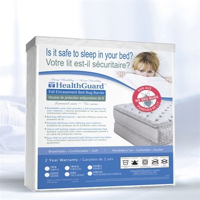 HealthGuard HGBBMP Bed Bug Mattress Encasement