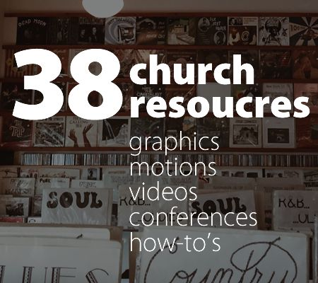 This article is brought to you by Open Church: Great custom graphic design is ideal. But sometimes time, money, or