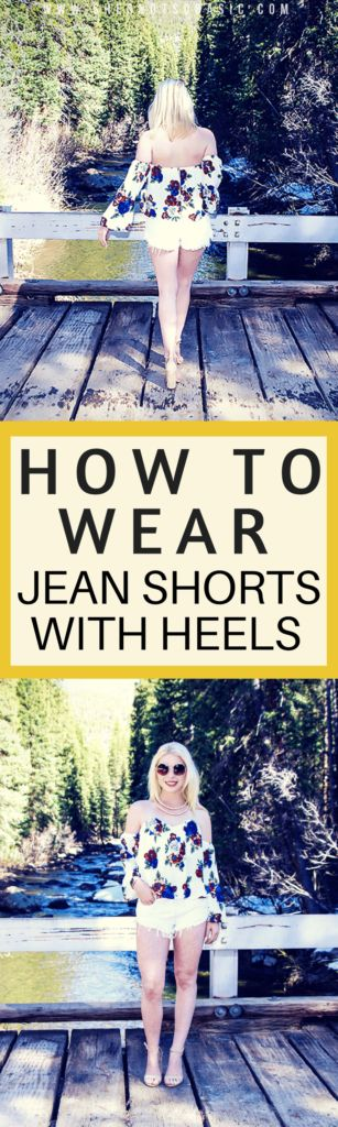 Jean shorts and heels can go from yaassss to oh no really fast! See How to Wear Jean Shorts and Heels while keeping it classy!   jean shorts outfit, jean shorts outfit summer, jean shorts and heels, jean shorts and heels outfit, fashion advice, fashion help for women