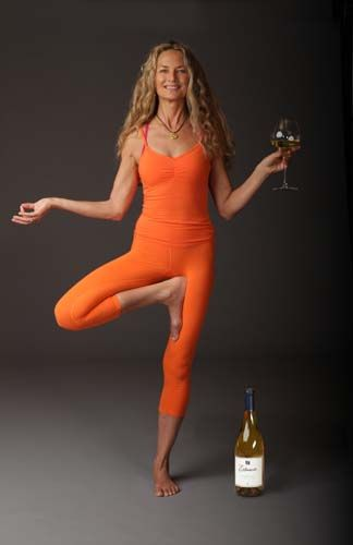 A lot of yoga teachers promote products. Colleen Saidman Yee is the first superstar yogi to do so for a winery.