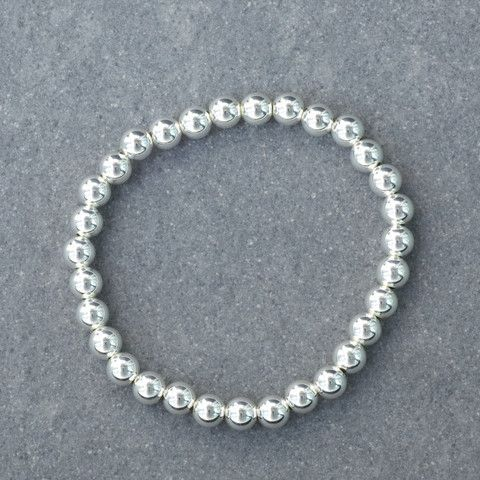 Preppy Silver Bracelet