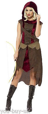 #Ladies hunter #costume archer game of #thrones huntress medieval fancy dress,  View more on the LINK: http://www.zeppy.io/product/gb/2/112030550335/