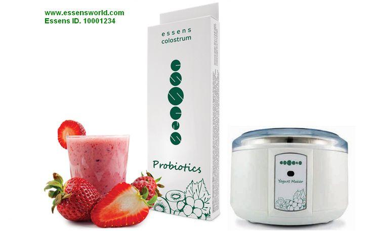 Essens Probiotics - čerstvý úplně zdravý jogurt s pro a prebiotiky s coloestrem - http://essensclub.cz/zdravy-probioticky-jogurt-s-colostrem/