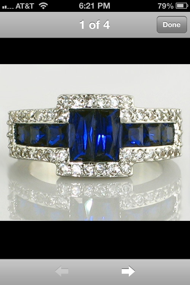 Im Not A Fan Of Diamonds But The Blue Stone Is Awesome Chevy Girl