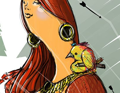 """Check out new work on my @Behance portfolio: """"Indya"""" http://be.net/gallery/33077869/Indya"""
