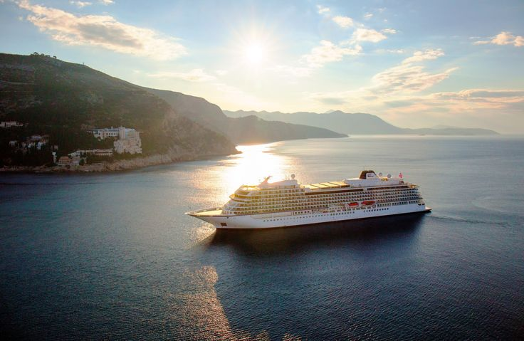 Viking Ocean Cruises celebrated the maiden voyage of its third ship, Viking Sky, from Rome's Civitavecchia port to Barcelona.