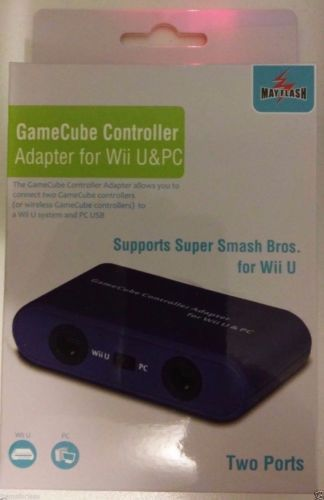 Mayflash Gamecube Controller Adapter for PC USB Wii U New