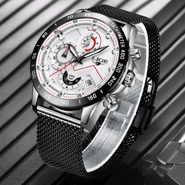 2019 New from Watches Extreme LIGE Mens Top Brand Luxury