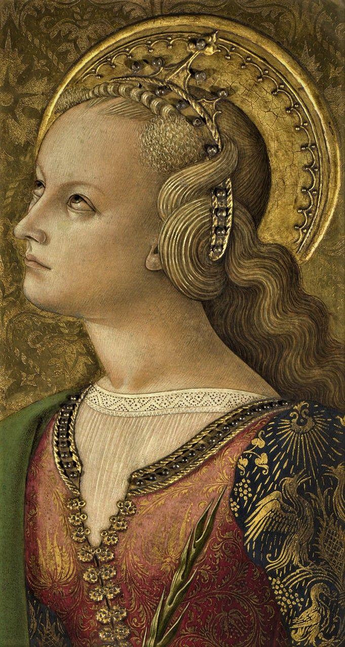 Saint Catherina of Alexandria b y Carlo Crivelli