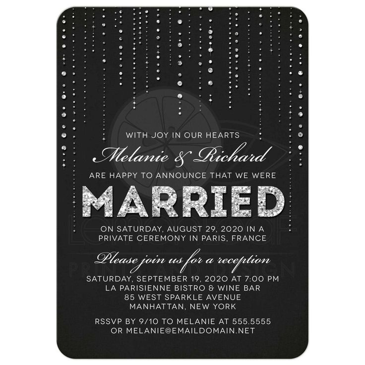 The 25 best Reception only invitations ideas – Wedding Party Invitation