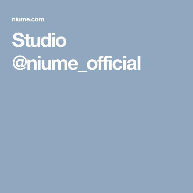 Studio @niume_official