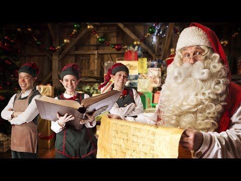 Vidéo message personnalisé du Père Noël