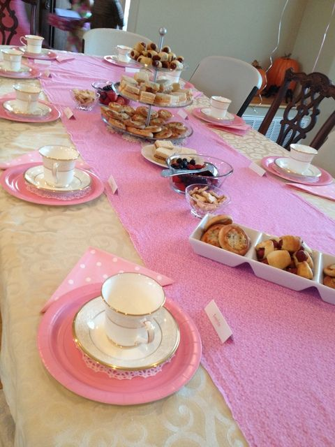 "Photo 14 of 16: American Girl Tea Party / Birthday ""Estella's Birthday"" 