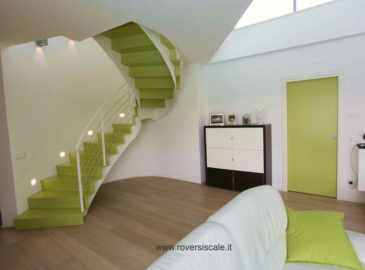 La scale ellittica! Semplice e complessa, la bellezza di creare qualcosa che emoziona.