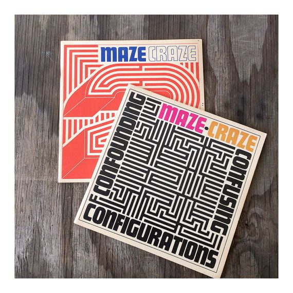 Reserved for Dave Adult Maze Books Puzzle by JustSmashingDarling