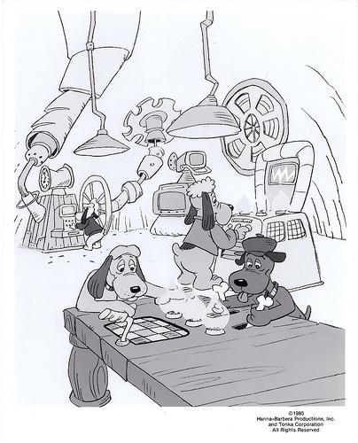 Pound Puppies Pilot Movie Cartoon Publicity Photo, 1985