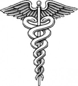 Caduceus - nursing tattoo