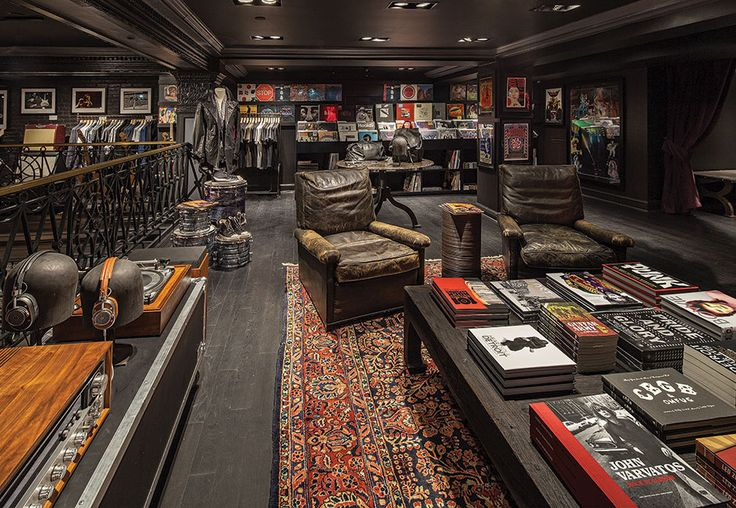 John Varvatos Opens a Rock 'n' Roll Retail Store in Detroit - Design Retail