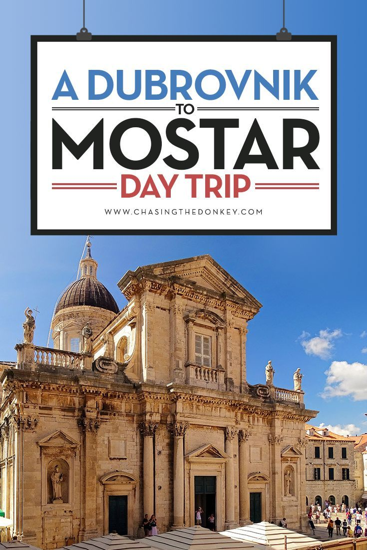A Dubrovnik to Mostar Day Trip. Here is How to Get From Dubrovnik to Mostar, By Car, By Bus and By Train