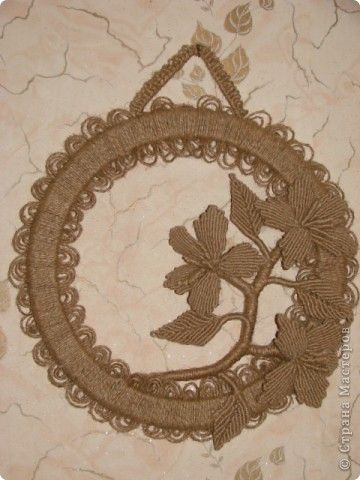 Поделка, изделие Макраме: Мои плетения!  Шпагат Отдых. Фото 3