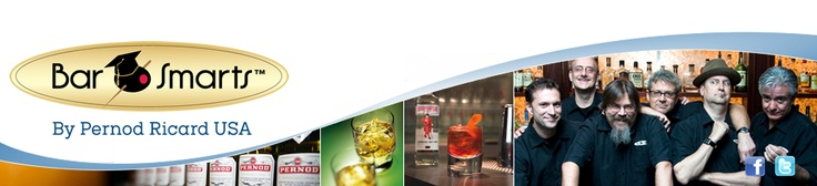 BarSmarts is a one-of-a-kind online bartender education and certification program sponsored by Pernod Ricard USA, and developed in collaboration with the world's most celebrated cocktail experts from BAR, LLC.