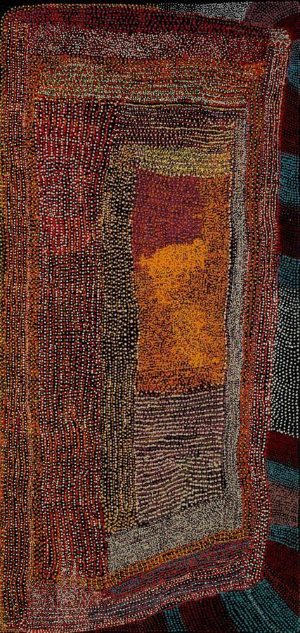 Tommy Mitchell / Wakalpuka    213.4 x 101.5cm