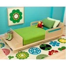 Toddler  Beds: Modern Toddler Bed