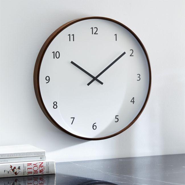 Lorne 20 Wall Clock In 2020 Clock Big Wall Clocks Kitchen