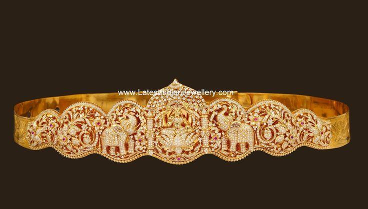 30 Lakhs Diamond Vaddanam | Latest Indian Jewellery Designs