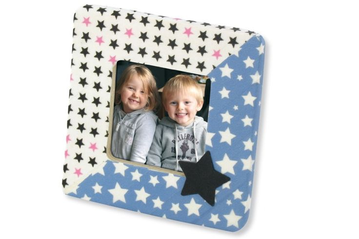 Washi tape - blå med vita stjärnor