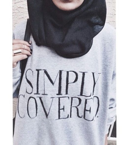 Simply Covered. #hijab