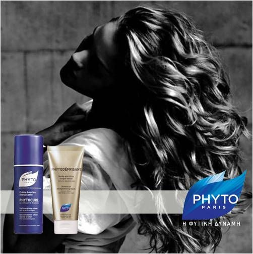 "H Phyto Paris & η Hair Expert Στέλλα Σουλελέ συμβουλεύουν για τα ""ΣΓΟΥΡΑ ΜΑΛΛΙΑ""   Εφαρμόστε σε λουσμένα ταμποναρισμένα μαλλιά phytocurl + phytodefrisant και στεγνώστε με φυσούνα φορμάροντας τις μπούκλες σας για 10΄.Αφήστε στη συνέχεια τα σγουρά  σας μαλλιά να στεγνώσουν φυσικά δουλεύοντας με τις παλάμες σας και θα έχετε τις πιο ανάλαφρες μπουκλες.  #PHYTOParis #beautytip #hair"