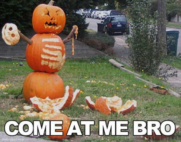 Come At Me Bro halloween halloween pictures halloween images halloween ideas…                                                                                                                                                                                 More