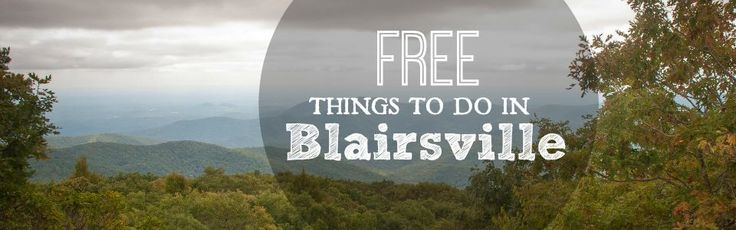 Blairsville is an outdoor oasis in the North Georgia Mountains. We love visiting here for the history, the waterfalls and the beloved Vogel State Park. Here are nine FREE things to do if you find your way here, too.